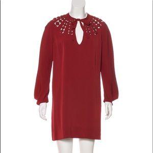 Diane von Furstenberg silk shift dress